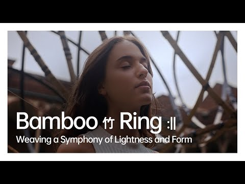 Bamboo (竹) Ring :|| Weaving a Symphony of Lightness and Form | OPPO x Kengo Kuma
