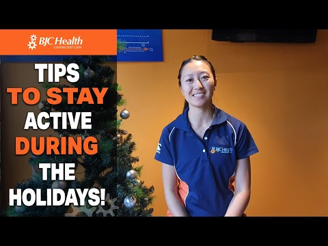 Tips to stay active during the holidays