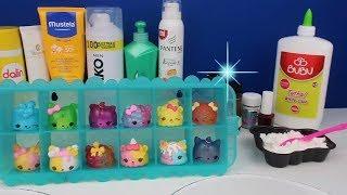 NUM NOMS İçinden Ne çıkarsa Slime Challenge! Numnoms Eğlenceli Ters Slime Challenge Bidünya Oyuncak