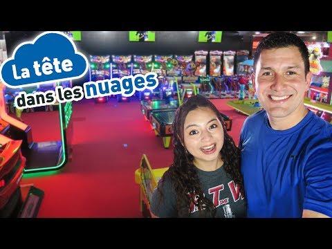 Arcade Fun in Paris, France! - La Tête Dans Les Nuages