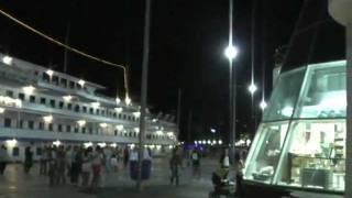 ПавелВидео.Крым-2008.(Часть-4).Ялта.Набережная ночью.Yalta at night.