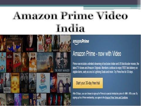 AMAZON PRIME VIDEO INDIA - YouTube