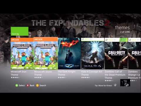 The Expendables 2 Free Xbox Live Theme