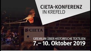 Internationale Tagung von Textilforschern in Krefeld (am 09.10.2019 um 12:36)