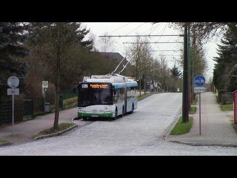 Eberswalde Trolleybus System Oberleitungsbus Eberswalde