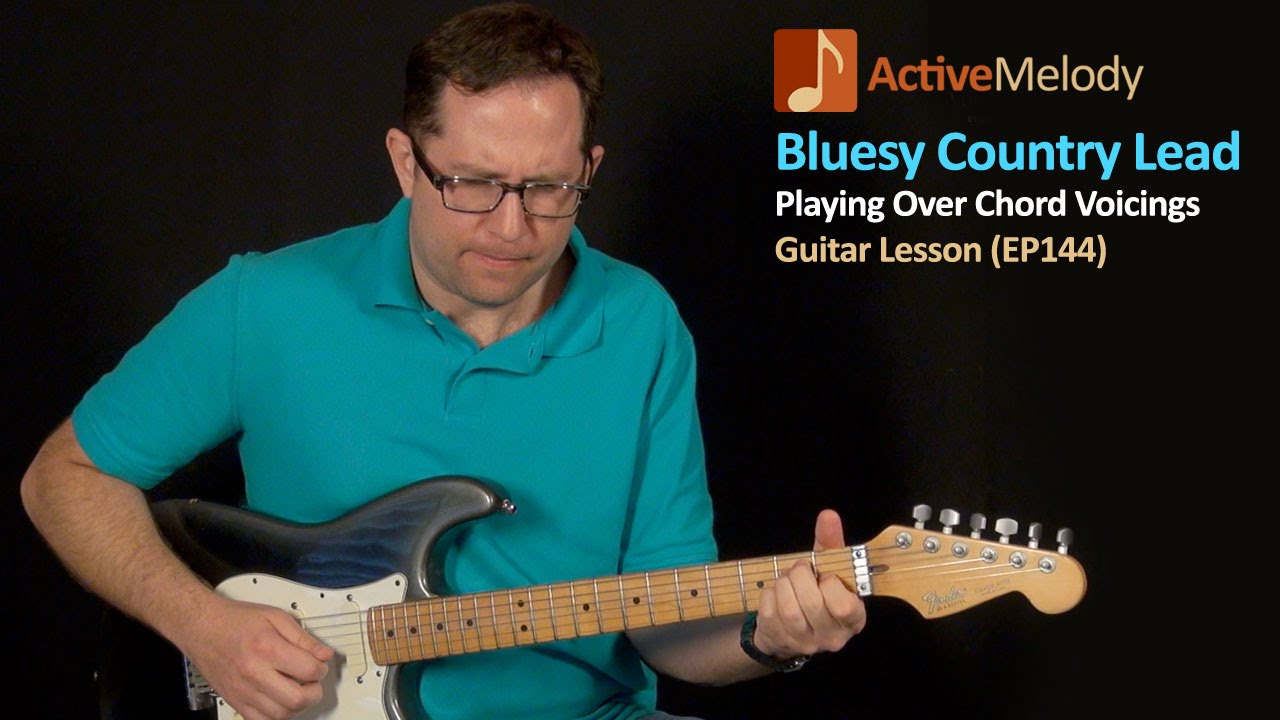 Learn An Easy Country Blues Lead Guitar Lesson Ep144 Youtube