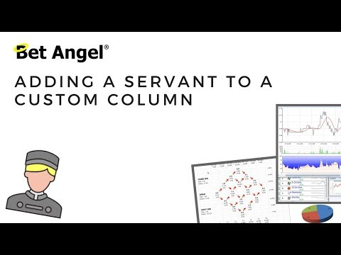 Bet Angel - Adding a Servant to a custom column
