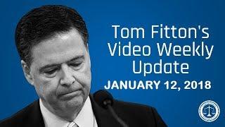 JW Pres. Tom Fitton on Clinton Emails/Comey Memos, Trump Dossier, DACA, & Haiti/Clinton Corruption