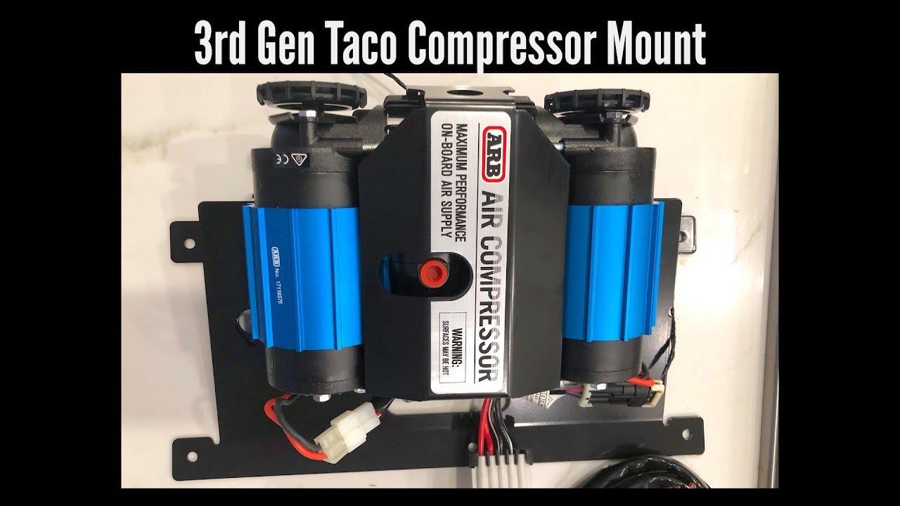 INSTALL: ARB 3rd Gen Tacoma Bed Mount Compressor - Toyota