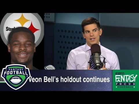 Is LeVeon Bell no longer a top fantasy football pick? | Fantasy Focus | ESPN