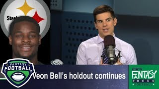Is Le'Veon Bell no longer a top fantasy football pick?   Fantasy Focus   ESPN