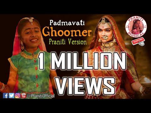 #Praniti | #Padmaavat Song | #GHOOMAR |...