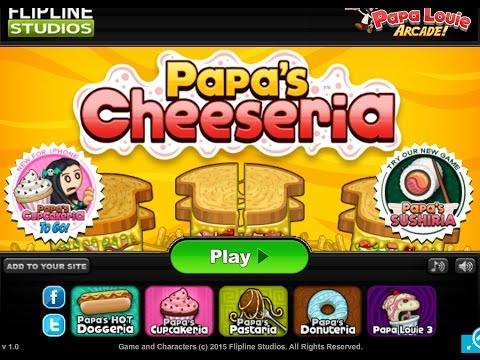 Игра Закусочная папы Луи онлайн Papa s Wingeria играть