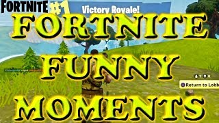 FORTNITE FUNNY MOMENTS #1!!! HILARIOUS BLOOPERS!!!