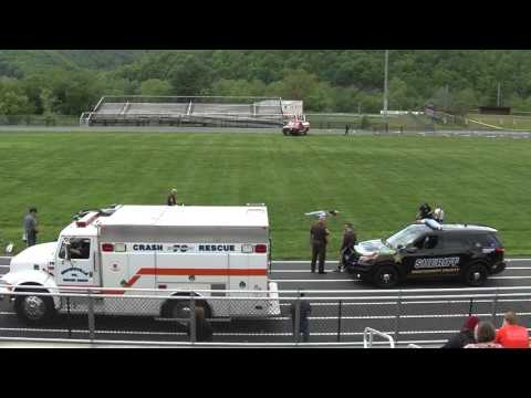 Eastern Montgomery High School Mock Crash 5-6-2016