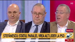 Codrin Ștefănescu: Statul paralel vrea alt lider la PSD