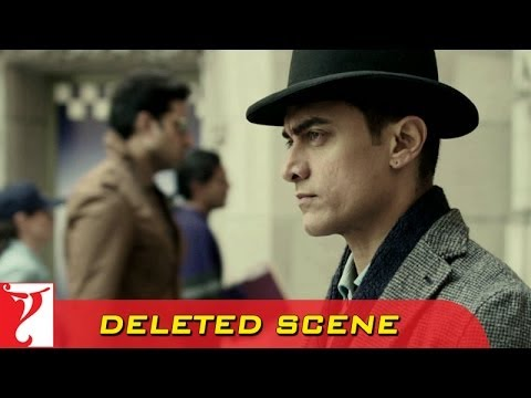 Deleted Scene:2 | DHOOM:3 | Sahir & Jai Cross Each Other | Aamir Khan | Abhishek Bachchan
