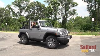 How To Remove/Install The Soft Top on Your Jeep Wrangler | Safford How-TOs