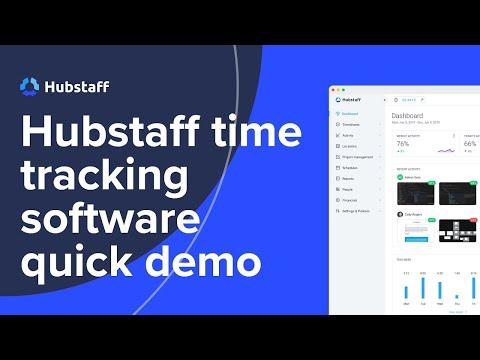 Employee Monitoring software | HubStaff Demo Video - Time Tracking