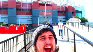 OLD TRAFFORD STADIUM TOUR *Behind The Scenes* Manchester United 2019