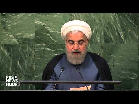 Watch Iranian President Rouhani's address to United Nations