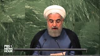 Watch Iranian President Rouhani