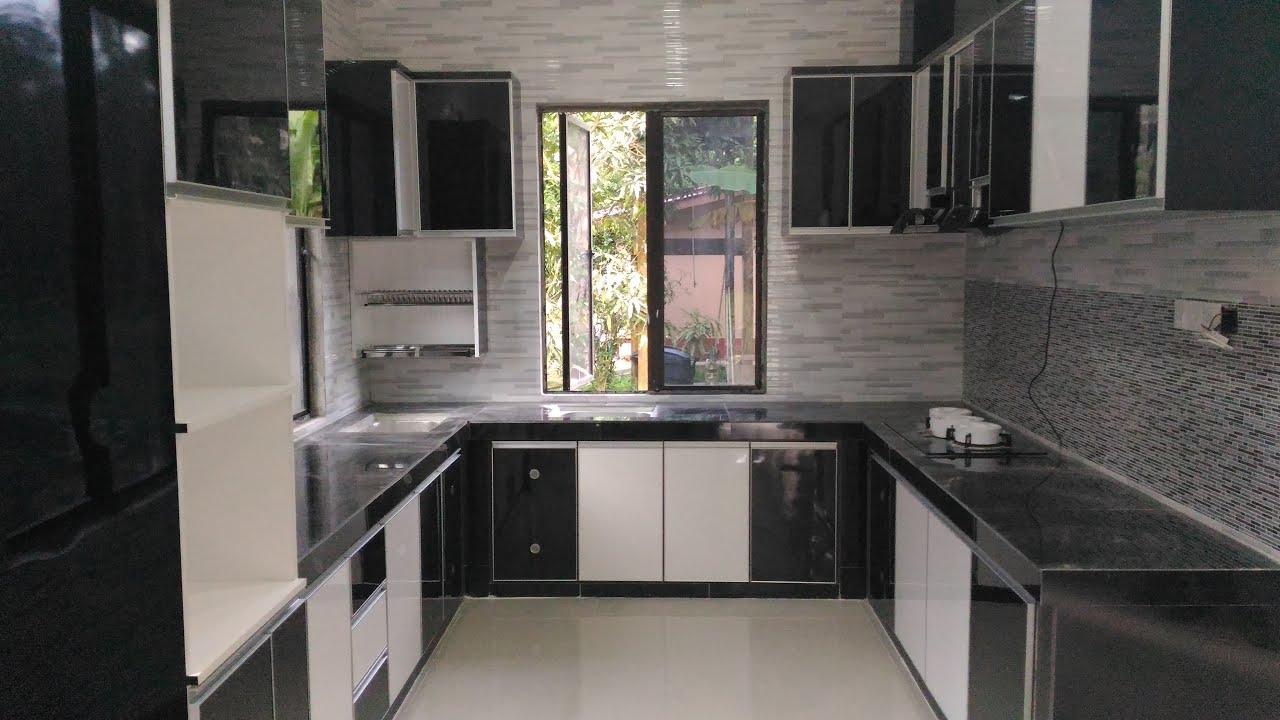 Kabinet Dapur Moden Siap Pasang Fast Forward Interior Design Malaysia Youtube