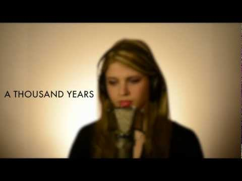 A Thousand Years - Christina Perri (cover By Sarah Fisher, Live Performance)