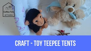 Craft - Toy Teepee Tents