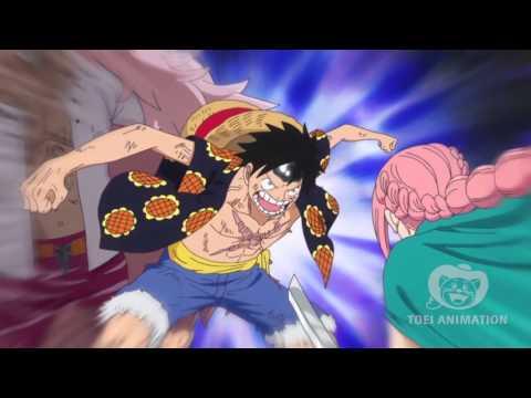 Luffy's epic entrance (Luffy saves Viola)