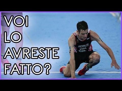Un ESEMPIO per Lo Sport: Due fratelli ai mondiali si sfidano ma accade qualcosa...