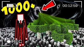 1000 SLENDERMANÓW vs LAS + CZARNA DZIURA!!!! - MINECRAFT APOKALIPSA #26