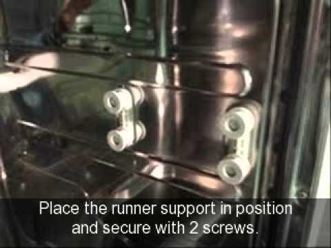 BAUMATIC BD1631 DISHWASHER UPPER BASKET RUNNER SUPPORTS X 4
