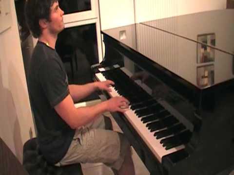 Ray Charles - Hit The Road Jack piano