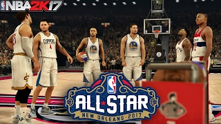 NBA 2K17 All-Star Weekend 2017 - (3 Point Contest)