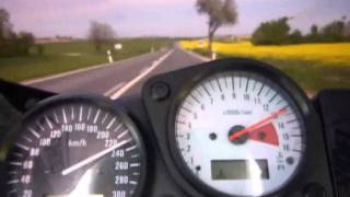 gsxr 750 srad 0-280 Kmh