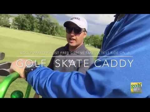 Golf Skate Caddy, the Newest Personal Golf Transport