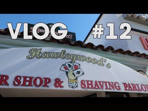 HAWLEYWOOD'S Barbershop  Layrite  Costa Mesa VLOG 12!