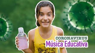 Lava a Mão - Paródia Corona - Música Educativa