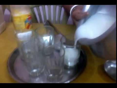 Cold Mild Sweet or Salty Lassi Prepared By Mom !!