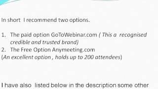Best Webinar Software - What is the best webinar software?