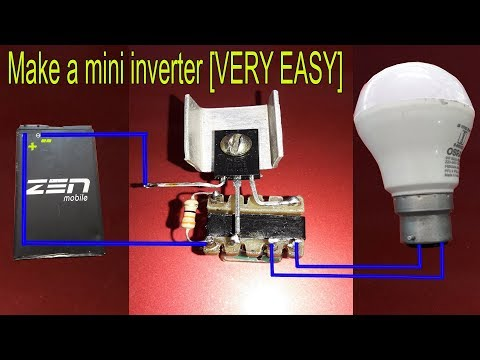 how to make your own 12 volt inverter