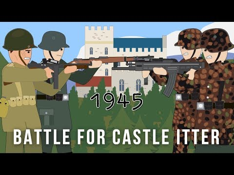 The US Army & German Wehrmacht VS Waffen SS - Battle for Castle Itter 1945
