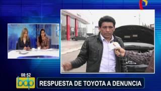 Toyota Responde A Denuncia De Estafa En Venta De Autos