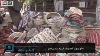 بالفيديو| بائع سلال وفخار: قعدة الشارع ما بتجبش همها
