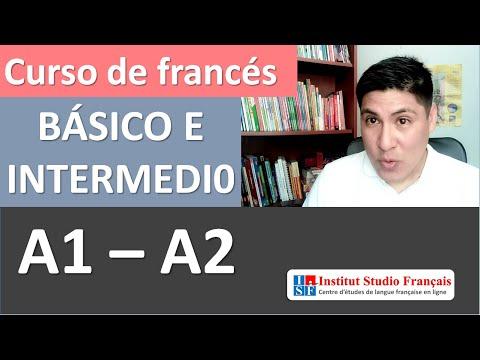 Curso completo de francés básico e intermedio A1 A2 - gratis