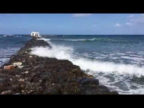 Уникальная церковь на воде. Crete #5