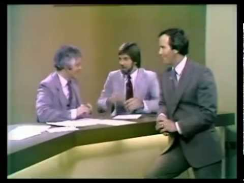 WKRCTV 1979 with Nick Clooney, Fred Wymore, Walt Maher and Steve Deschler