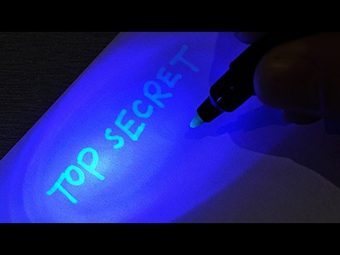 How to Make Invisible Ink Pen For Secret Messages