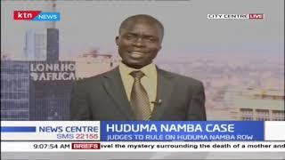 3 judge bench to rule over Huduma number case